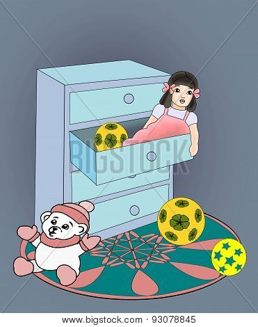Doll in a Drawer