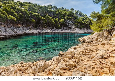 Calanque between Marseille and Cassis, France
