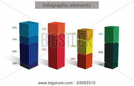 3d vector cubic diagram