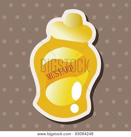 Mustard Sauce Theme Elements