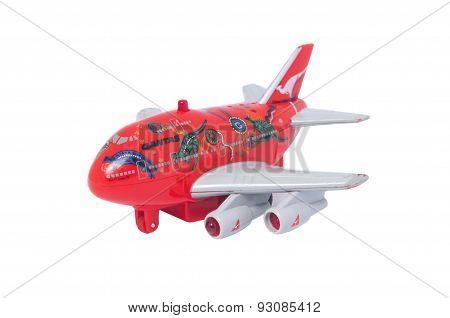 Qantas Jumbo Jet Toy
