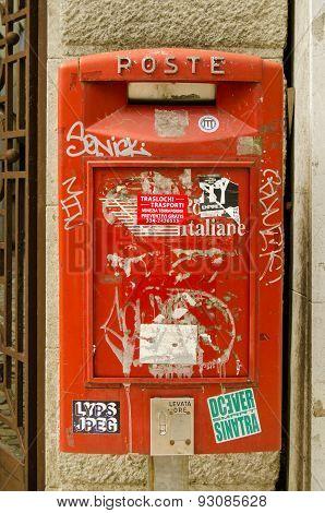 Italian Post Box, Venice