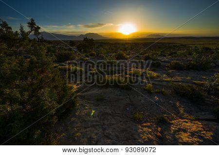 Beautiful Sunrise Capitol Reef National Park