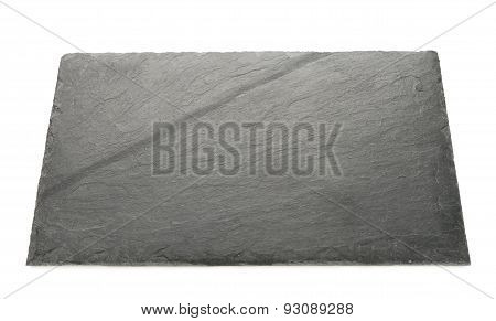 Plate Made Of Natural Black Slate