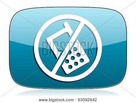 no phone icon no calls sign