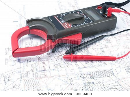 Voltage Tester On  Diagram