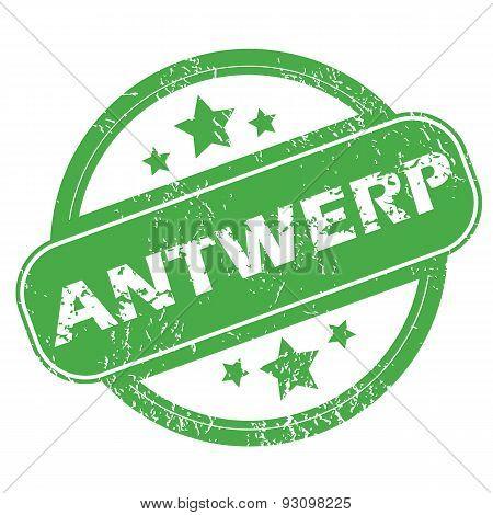 Antwerp green stamp