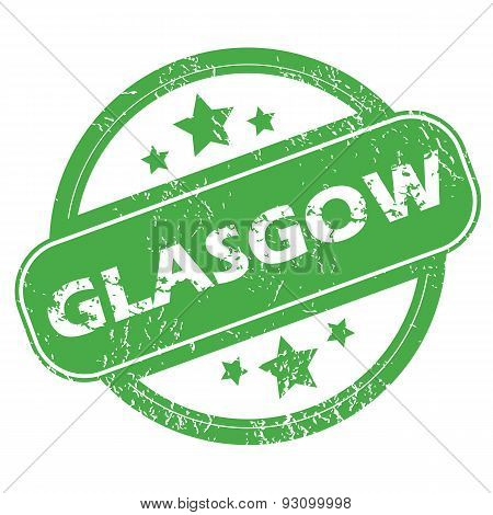 Glasgow green stamp