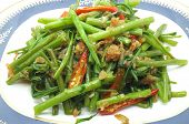 picture of glory  - Stir Fried Water Spinach - JPG