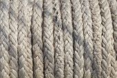 picture of  rig  - foto Rigging of an ancient sailing vessel - JPG
