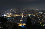 picture of crossroads  - Athens Greece city lights - JPG