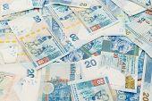 image of twenty dollars  - Group of twenty Hong Kong dollar - JPG