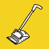 picture of broom  - Broom Doodle - JPG
