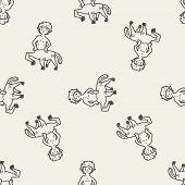 pic of centaur  - Centaur Doodle - JPG