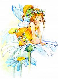 image of fairies  - Cute girl - JPG