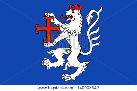 Flag of Hamelin-Pyrmont is a district in Lower Saxony Germany