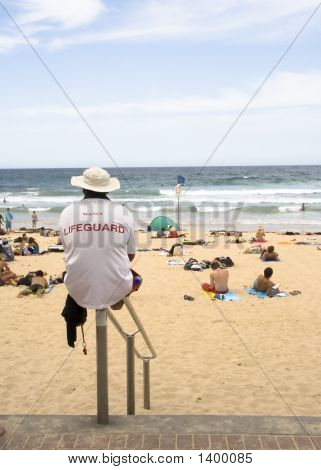 Manly Beach Lifeguard