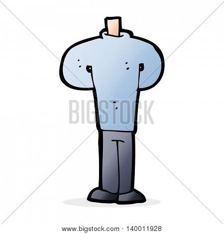 cartoon body standing still  (mix and match cartoons or add own photos)