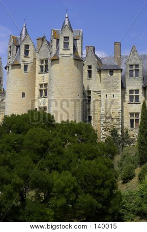Castle Walls Montreuil-bellay Loire Valley France