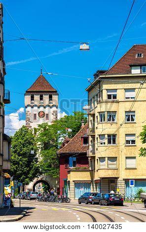 Gate of Saint John in Basel, Switzerland