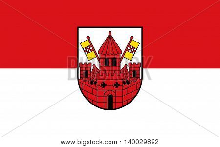 Flag of Unna is a city in North Rhine-Westphalia Germany