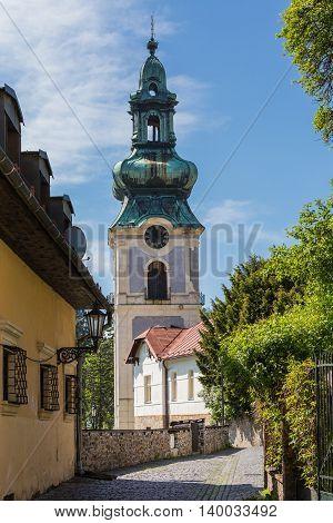 Alley Of The City Banska Stiavnica
