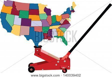 hydraulic jack lifts America United States Of America