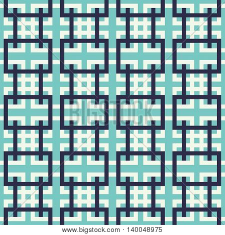 Abstract seamless pattern geometric shapes. Can be used for web print and book design home decor fashion textile wallpaper.