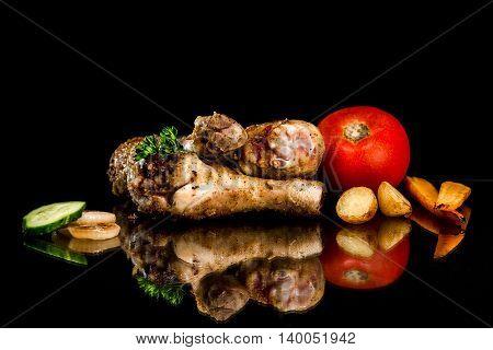 Roasted Chicken Drumstick