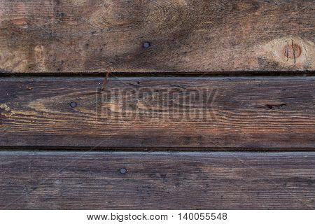Background of 3 old wooden pallet board