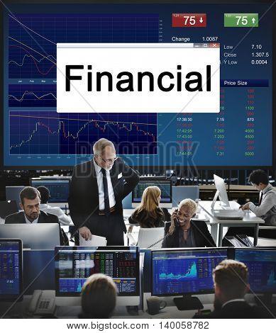 Investment Stocks Market Business Economy Concept
