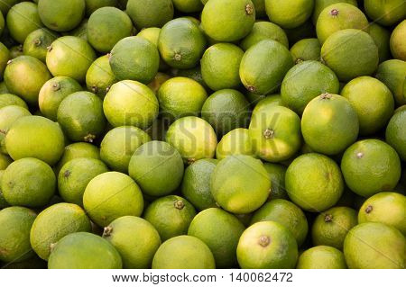 Lime Fruit Background , Pile Of Green Lime Fruits