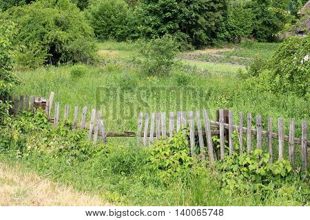 Fence - a construction that serves to protect and designate the boundaries of foreign territory.
