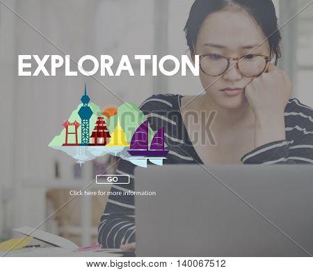 Exploration Adventure Destination Experience Concept