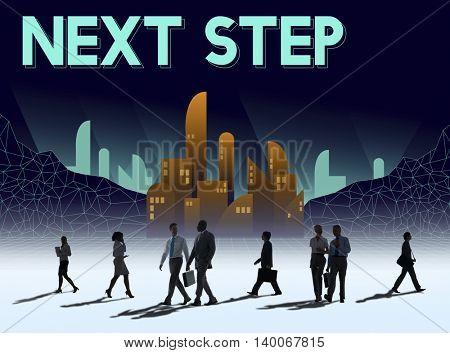 Next Step Future Structure Urban Concept