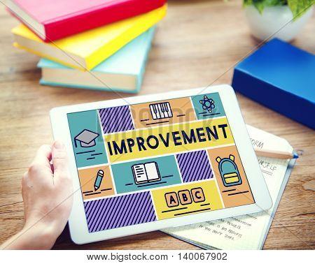 Improvement Advance Motivation Potential Education Concept