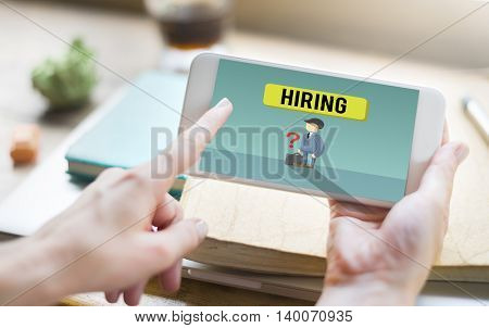 Career Employment Recruitment Job Hiring Concept