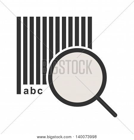 Security, information, code icon vector image. Can also be used for logistics. Suitable for mobile apps, web apps and print media.