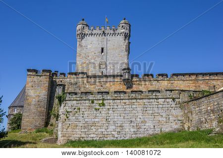 Wall And Tower Of The Bentheim Castle