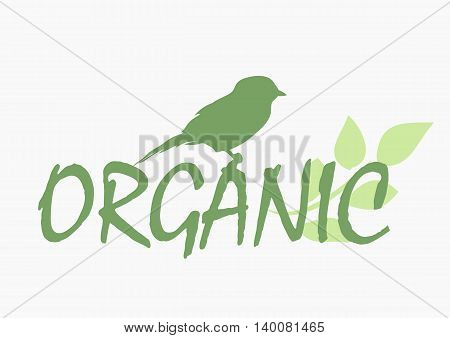 Illustration on the theme of natural products and environmental