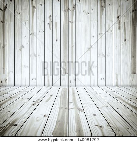 Interior room. Wood empty texture for background