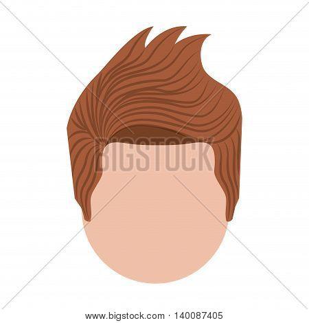 head man  isolated icon design, vector illustration  graphic