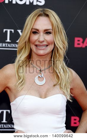 Taylor Armstrong at the Los Angeles premiere of 'Bad Moms' held at the Mann Village Theater in Westwood, USA on July 26, 2016.