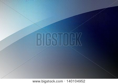 metal mesh with glass background