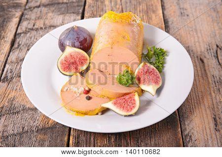 foie gras and fresh fig