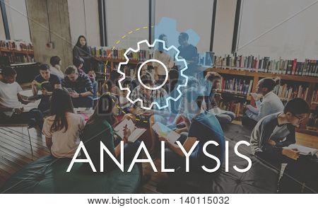 Analysis Business Action Development Concept