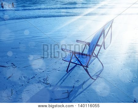 an image of beach chairs