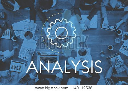 Analysis Business Action Development Concept