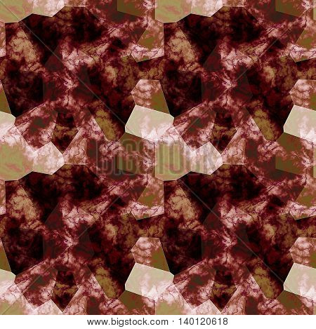 Seamless abstract pattern with typical burgundy marble structure