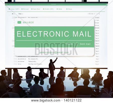 E-mail Online Communication Message Technology Concept